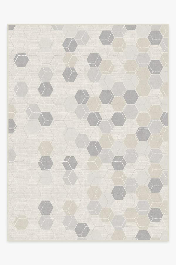Washable Rug Cover | Prisma Natural Rug | Stain-Resistant | Ruggable | 9'x12'