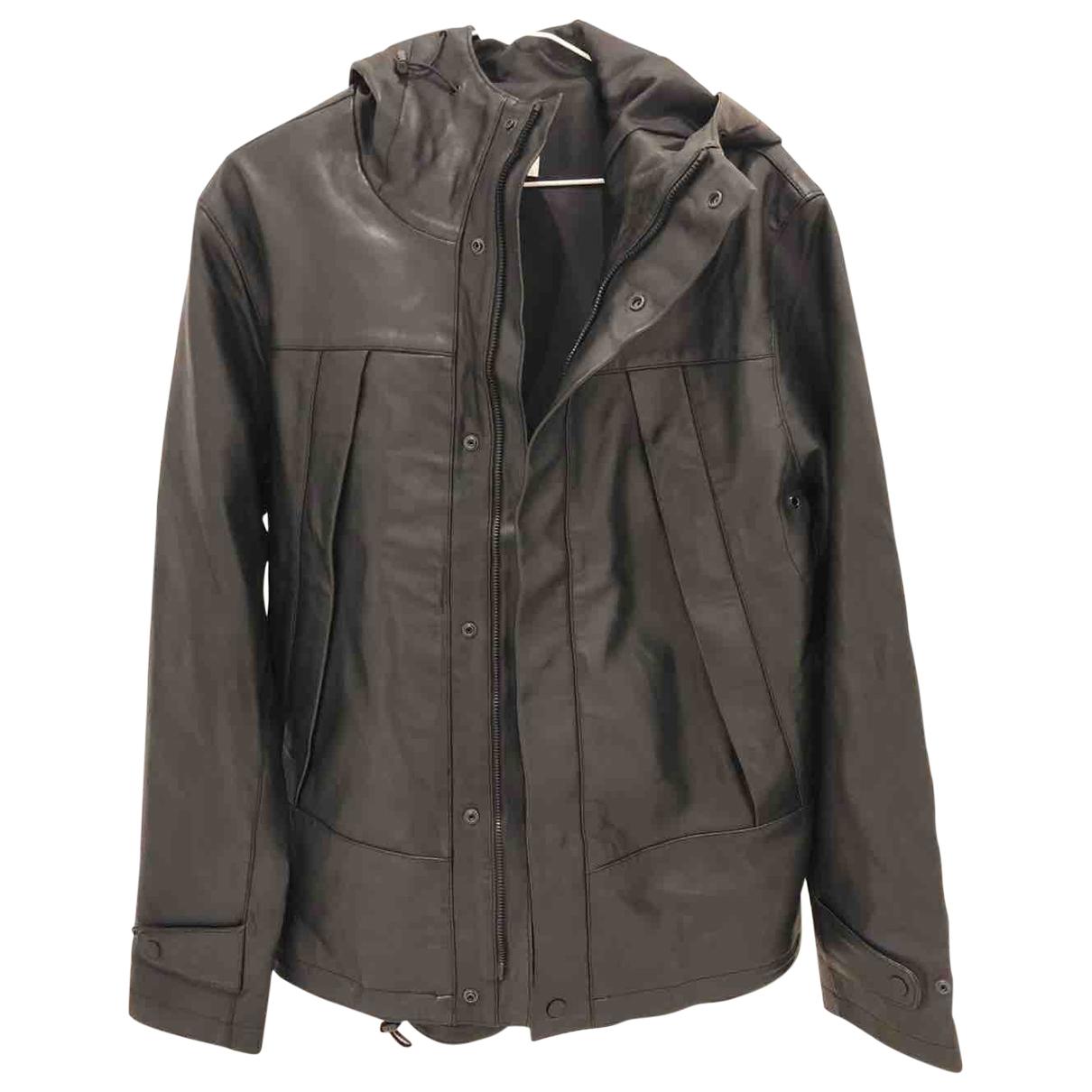 Sandro \N Black Leather jacket  for Men M International