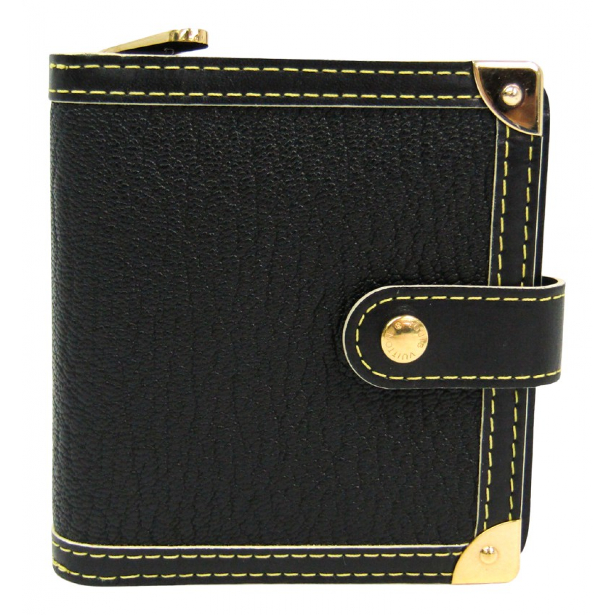 Louis Vuitton N Black Leather wallet for Women N