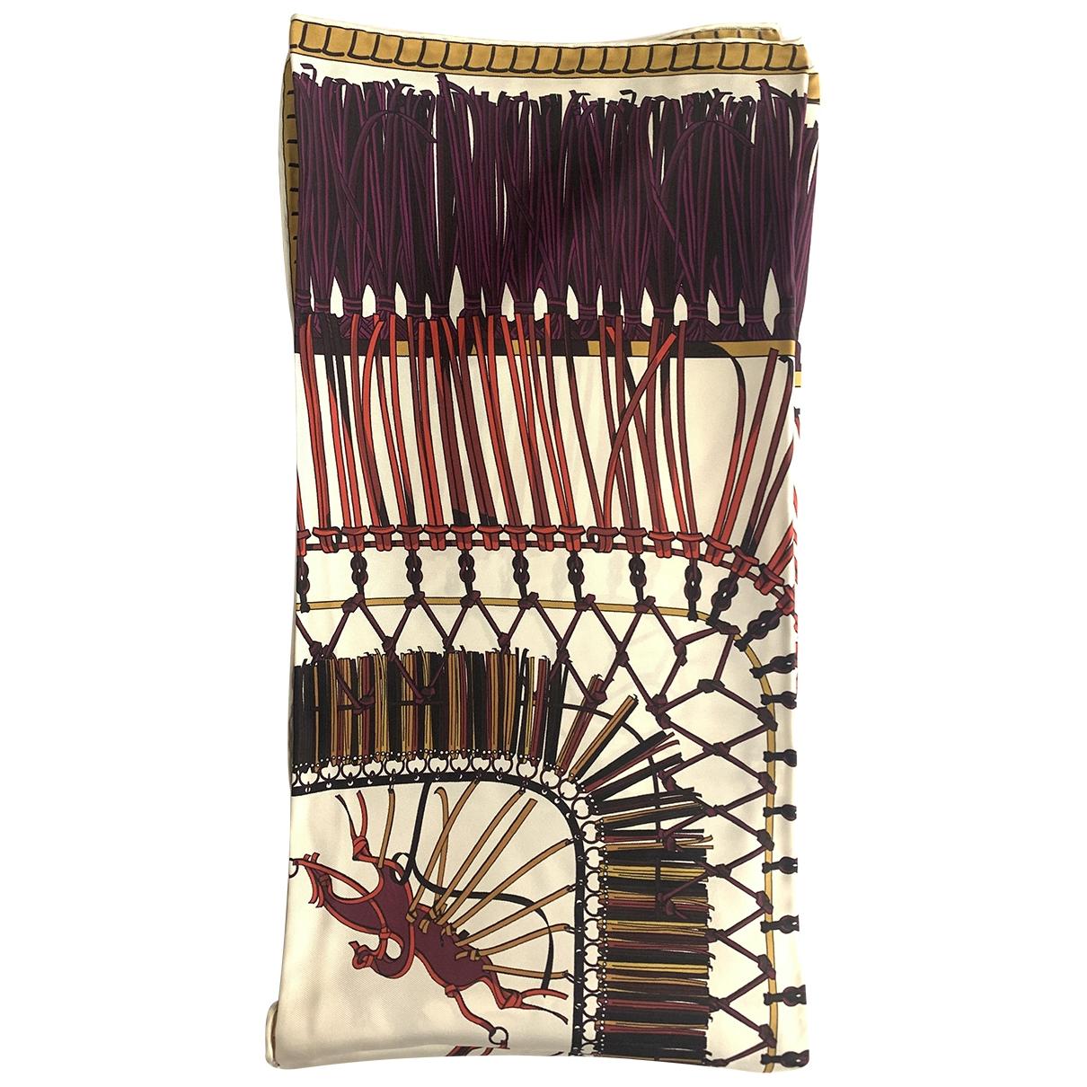 Longchamp \N Silk Silk handkerchief for Women \N