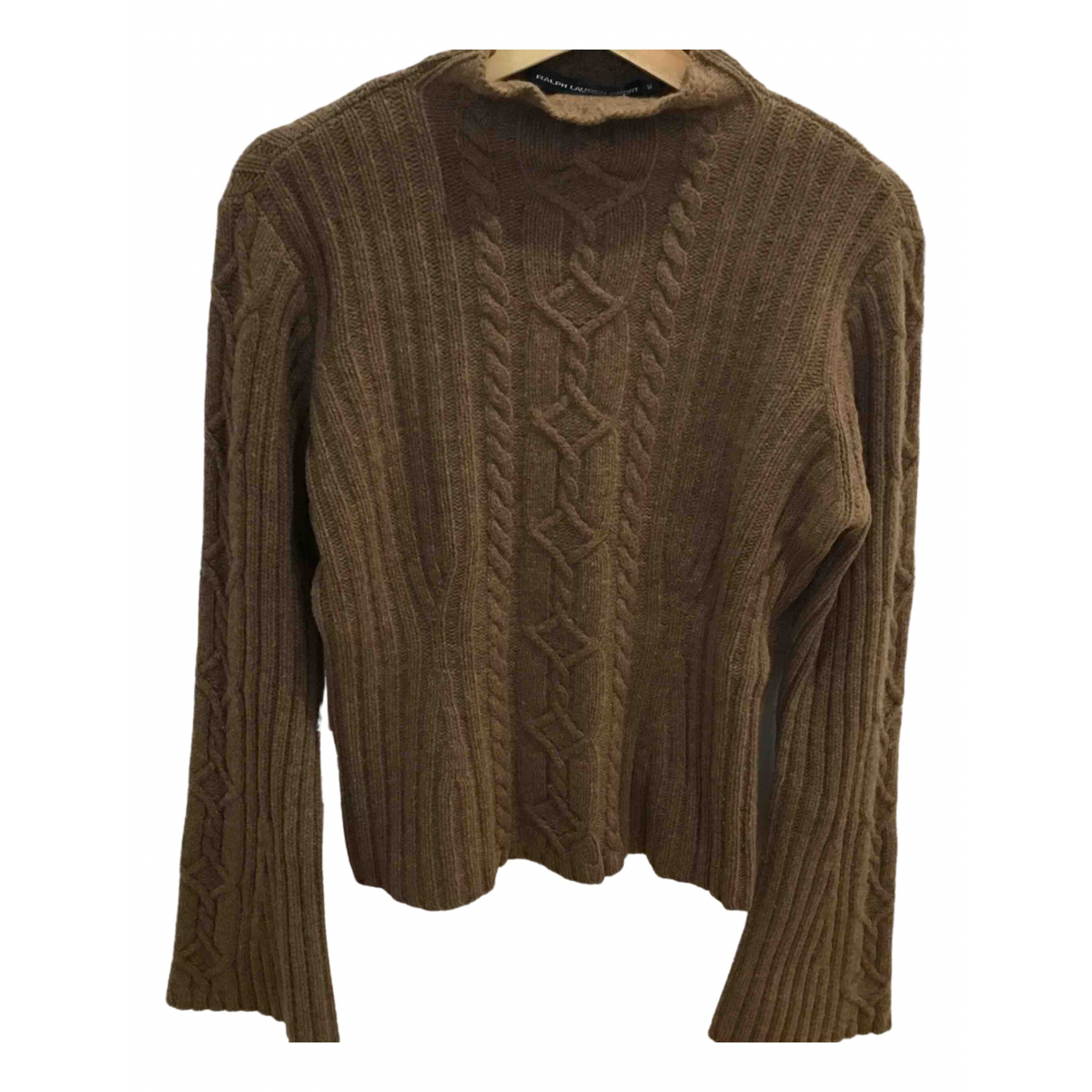Non Signé / Unsigned N Brown Wool Knitwear for Women M International