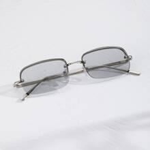 Maenner Sonnenbrille mit halbem Rahmen
