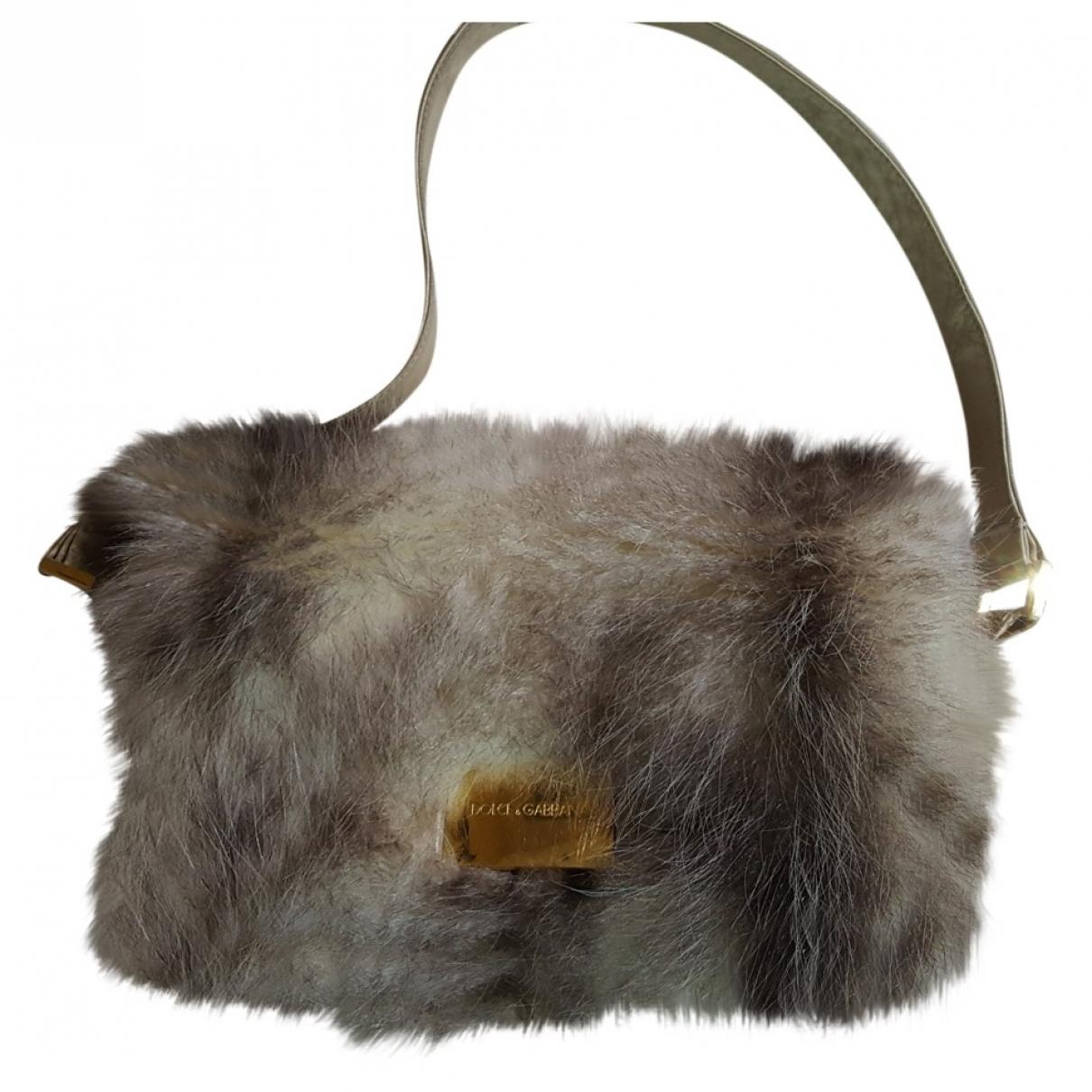Dolce & Gabbana \N Handtasche in  Beige Nerz