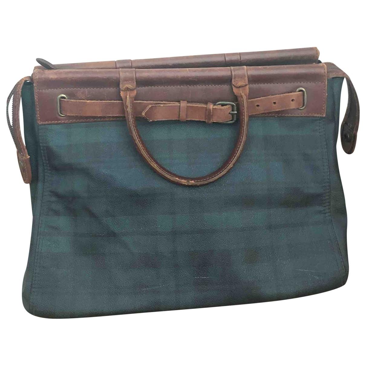 Polo Ralph Lauren \N Green Cloth handbag for Women \N