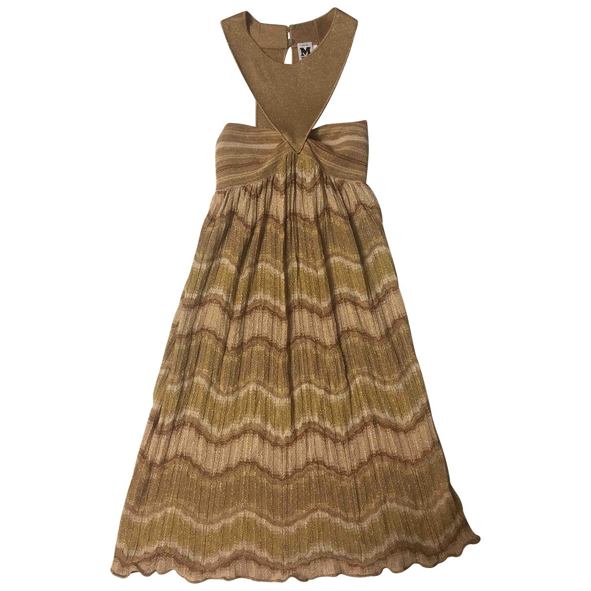 M Missoni \N Kleid in  Gold Polyester