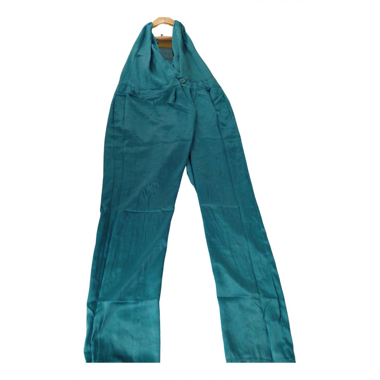 - Combinaison   pour femme en soie - vert