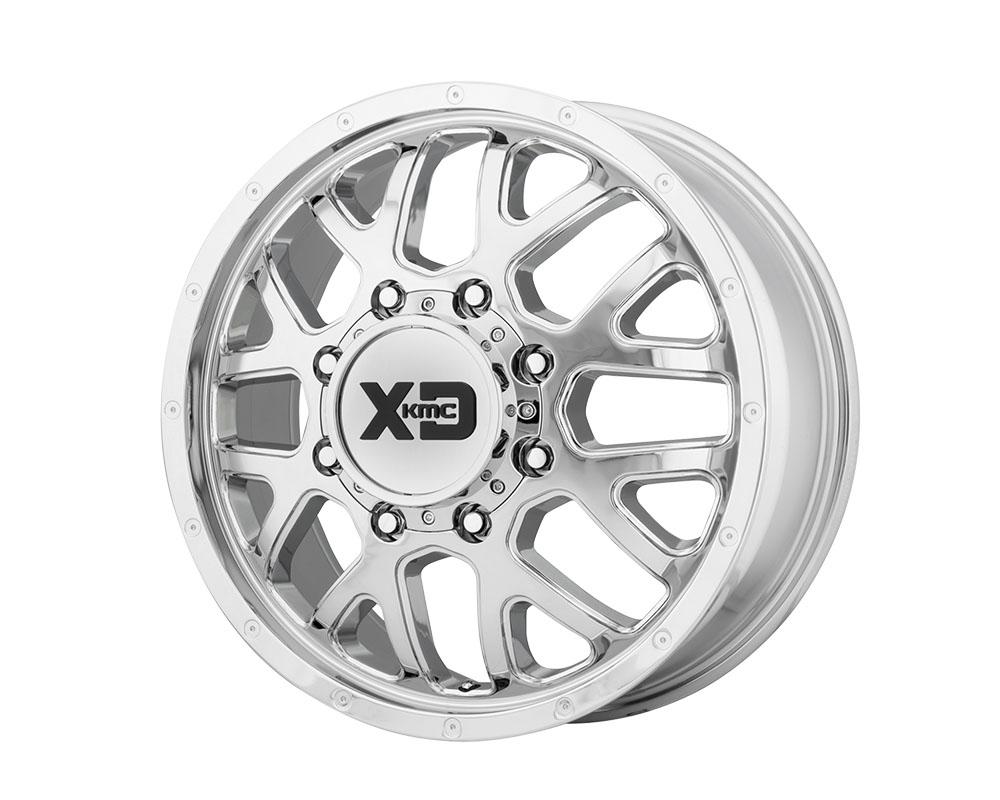 XD Series XD843208902127 XD843 Grenade Dually Wheel 20x8.25 8x8x165.1 +127mm Chrome - Front