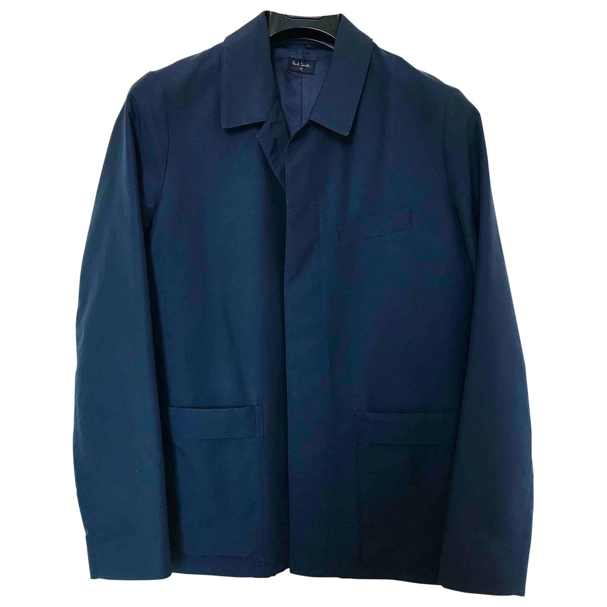 Paul Smith - Vestes.Blousons   pour homme en coton - bleu