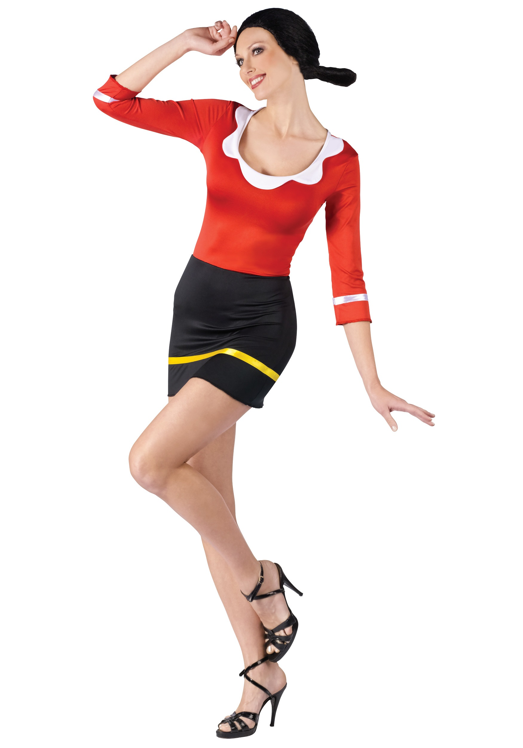 Sexy Olive Oyl Costume for Women