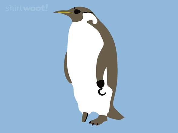 Pirate Penguin Remix T Shirt