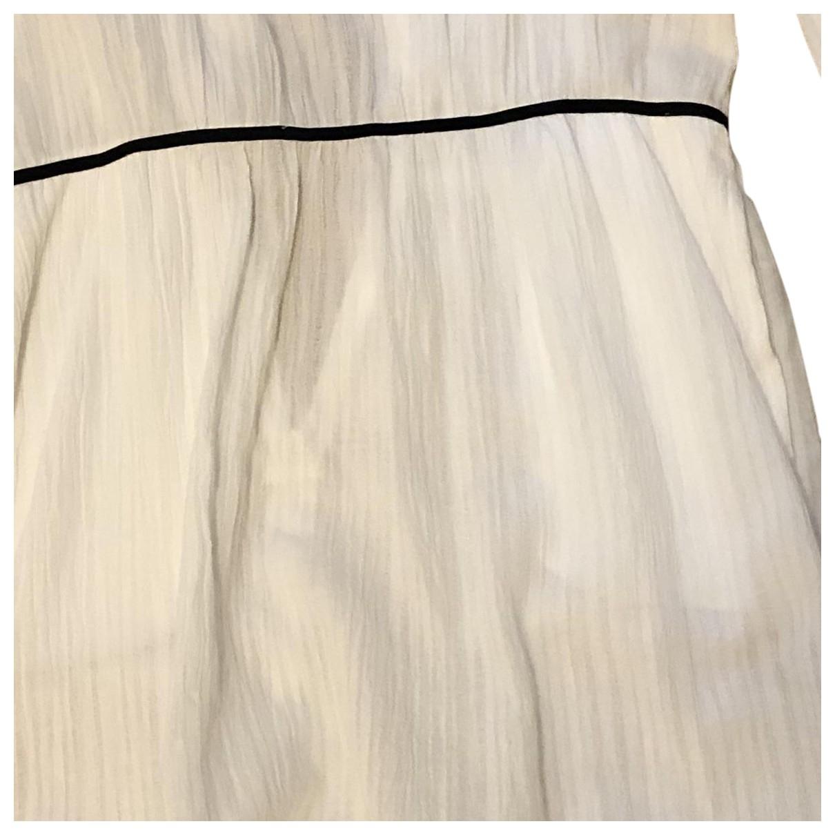 Bel Air \N Kleid in  Weiss Baumwolle