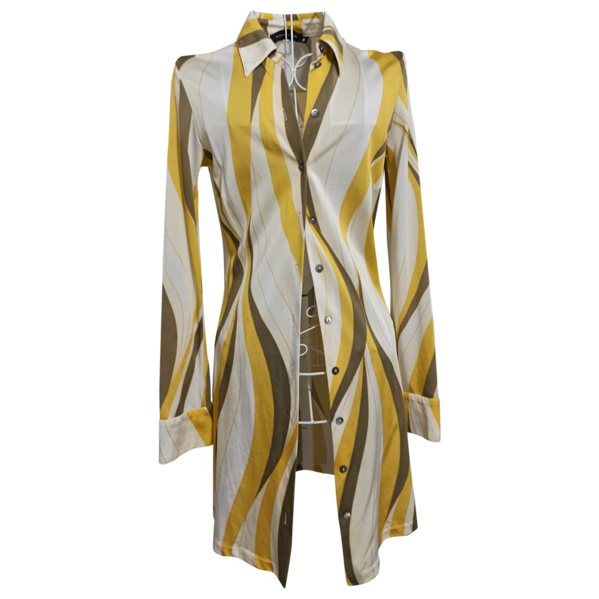 Non Signé / Unsigned \N Yellow  top for Women M International