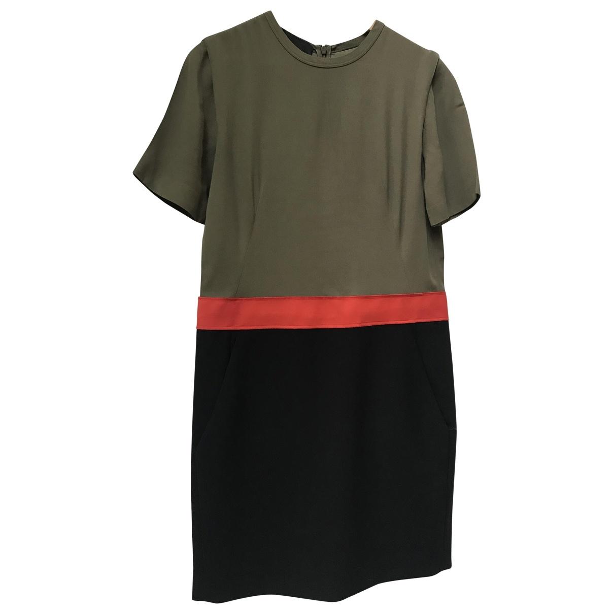Cedric Charlier \N Kleid in  Bunt Polyester