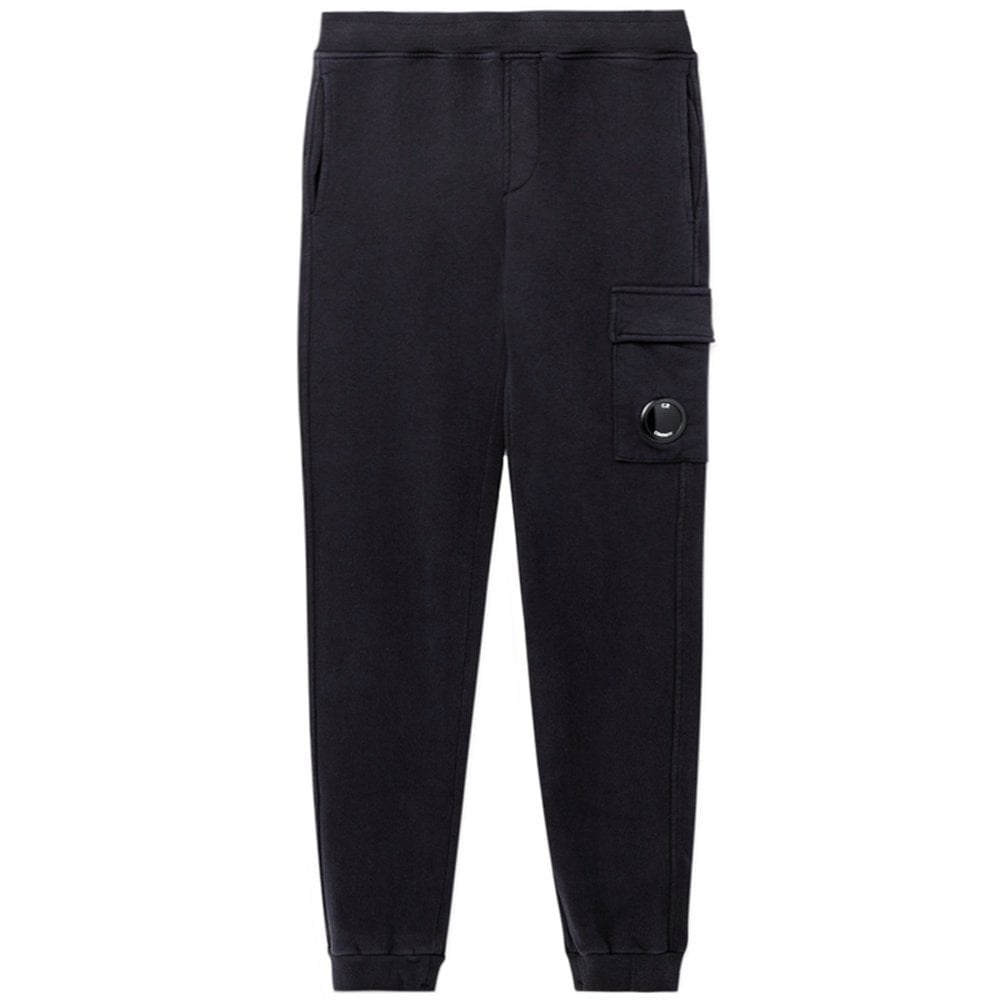 C.p. Company C.P Company Kids Google Patch Joggers Colour: NAVY, Size: 10 YEARS