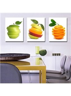 New Arrival Apple and Orange Chips Canvas Wall Prints