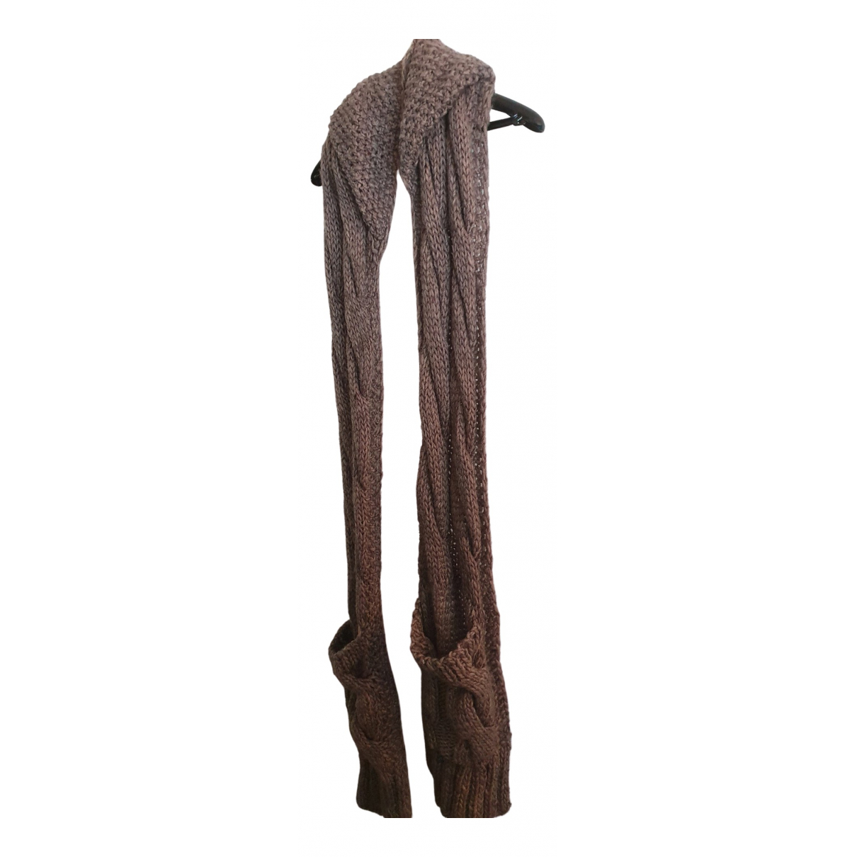 Zara \N Schal in  Grau Wolle
