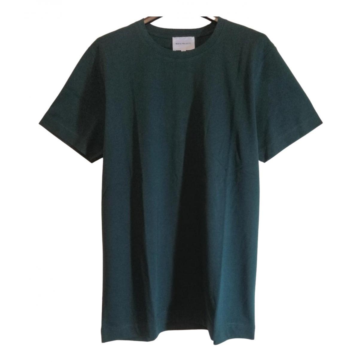 Norse Projects - Tee shirts   pour homme en coton - vert