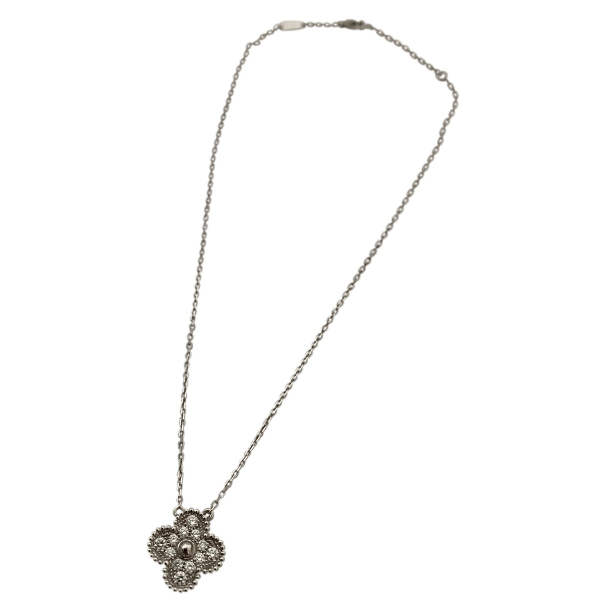 Van Cleef & Arpels Sweet Alhambra White gold necklace for Women \N