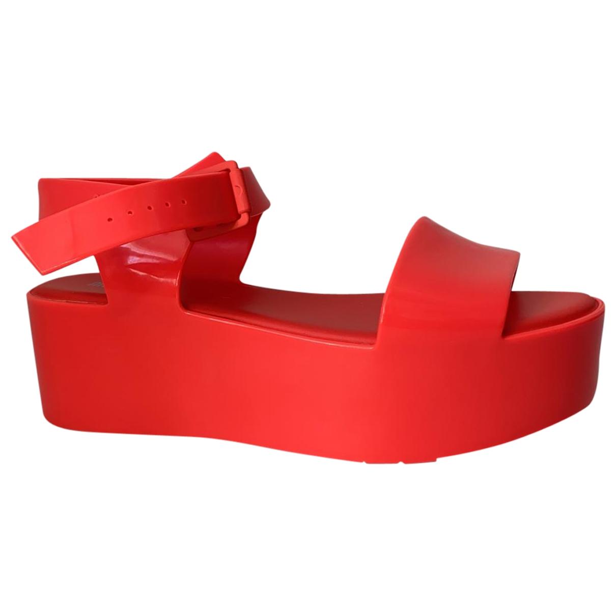 Melissa \N Rubber Sandals for Women 38 EU