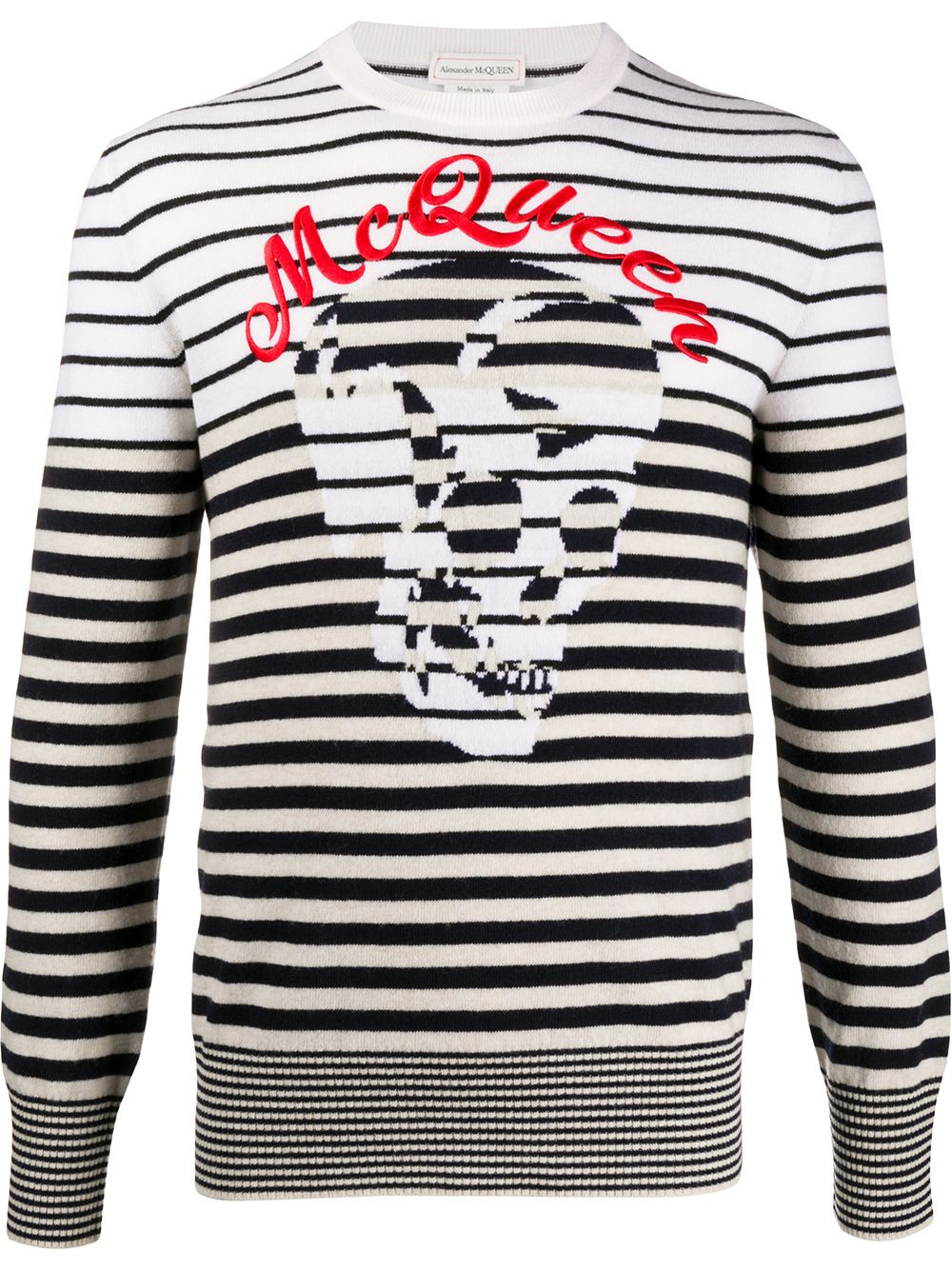 Crewneck Sweater With Logo