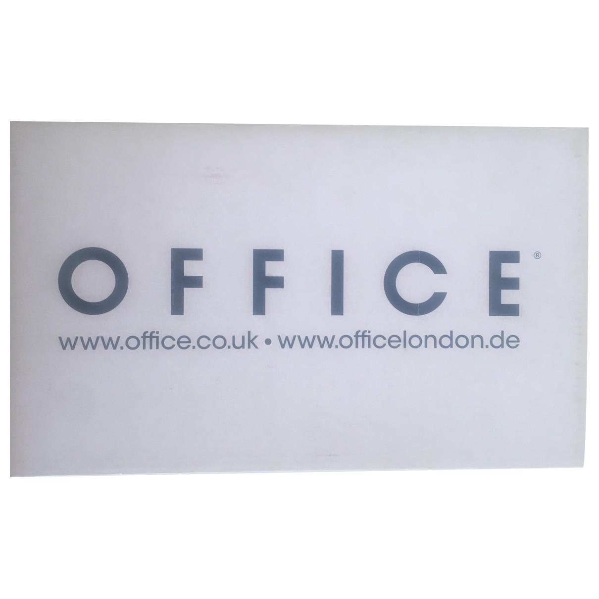 Office London \N Clogs in  Rosa Veloursleder