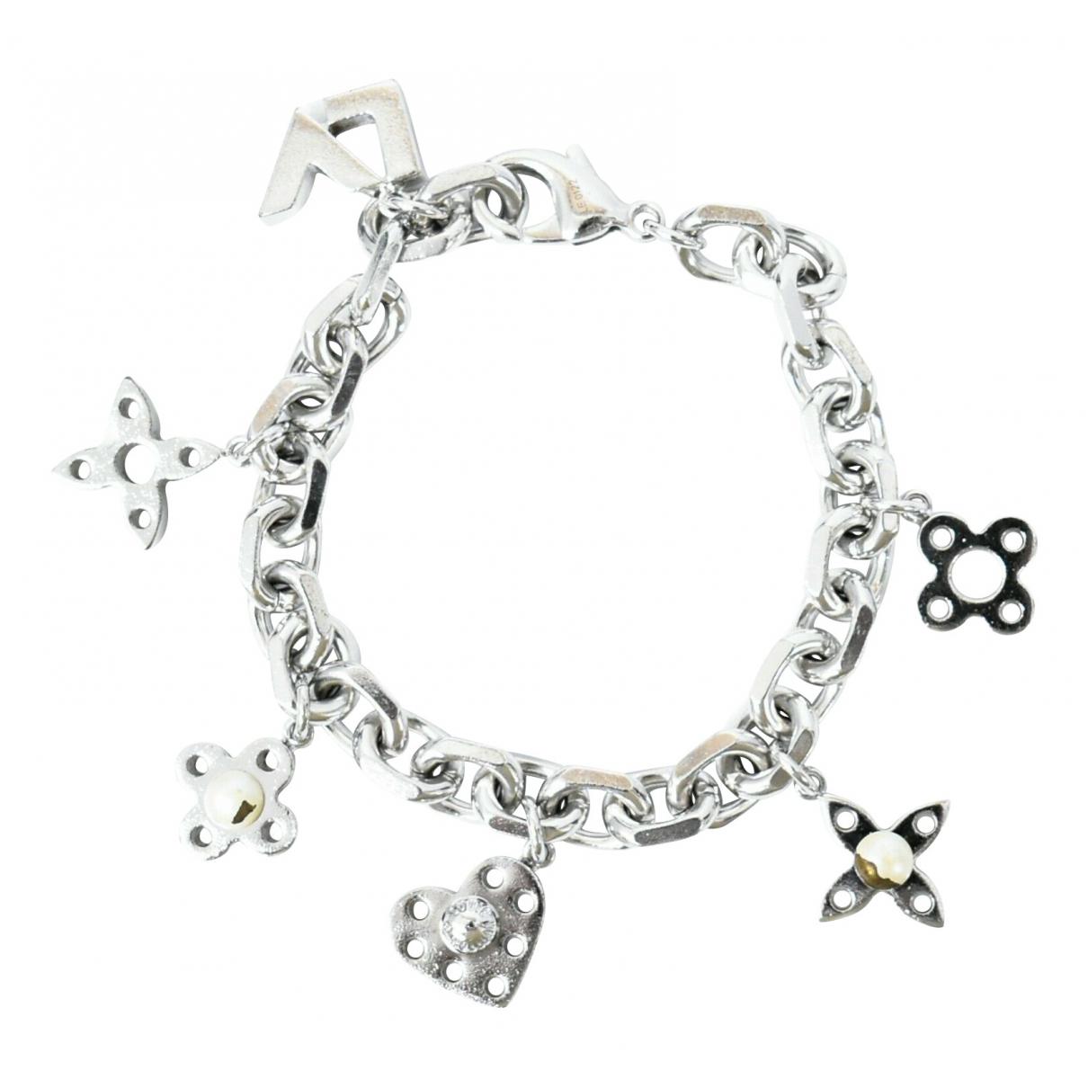 Louis Vuitton \N Armband in  Silber Metall
