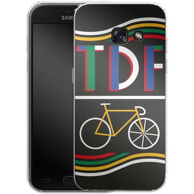 Samsung Galaxy A3 (2017) Silikon Handyhuelle - TDF Bike von Le Tour de France