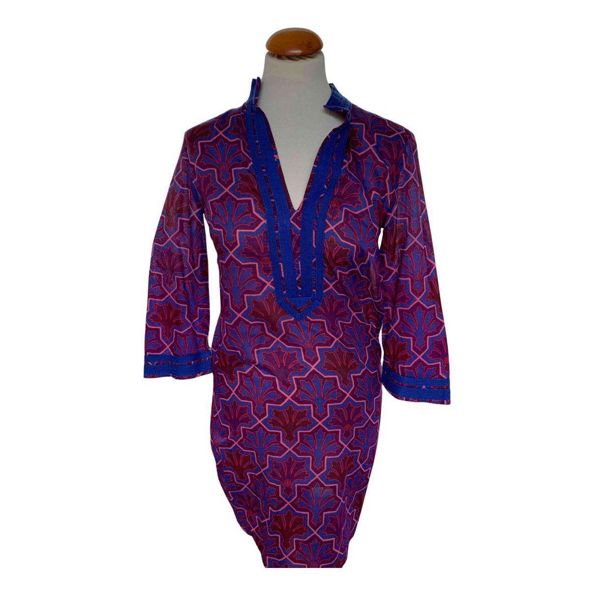 Tory Burch N Purple Cotton dress for Women 4 US