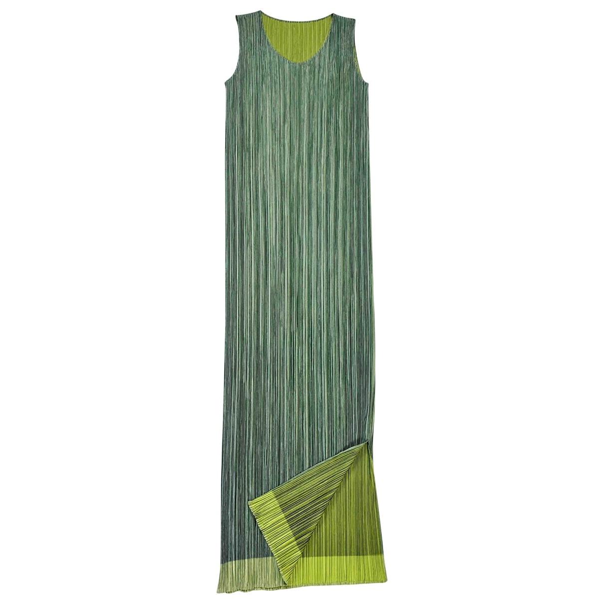 Pleats Please - Robe   pour femme - vert
