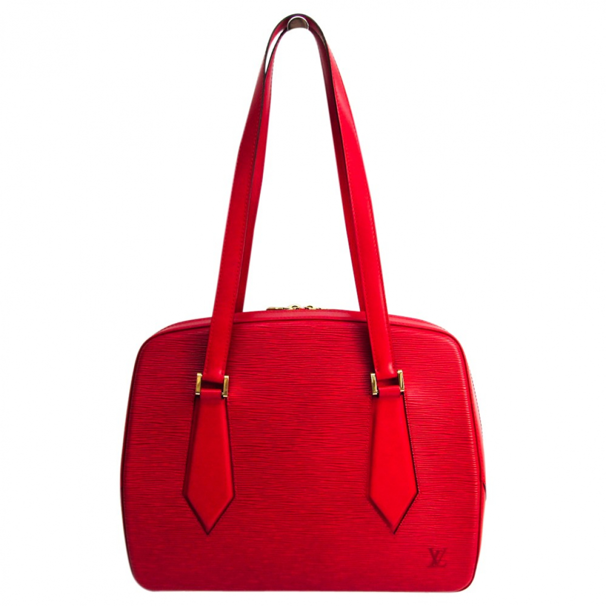 Louis Vuitton Voltaire Red Leather handbag for Women N