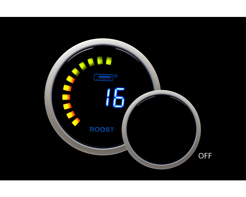 Prosport Performance Boost Electrical with Sender Blue Digital LCD Display 14 Vac-45Psi