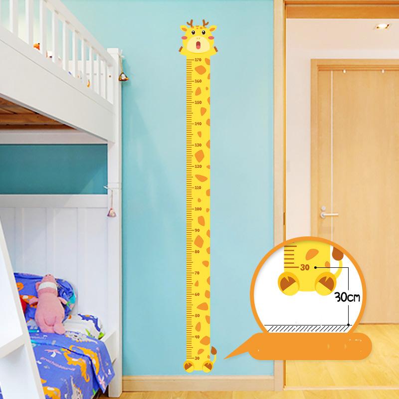 Animal Giraffe Rabbit Dinosaur Creative Cartoon Wall Stickers / Wall Decorations Four colors For You