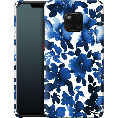 Huawei Mate 20 Pro Smartphone Huelle - Sophia Blue Floral von Amy Sia