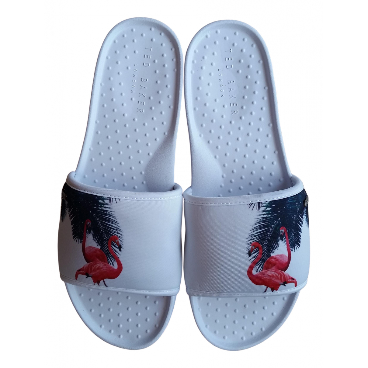 Ted Baker - Sandales   pour homme - blanc