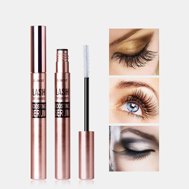 Eyelash Growth Serum Natural Herbal Medicine Eye Lashes Growth Curling Thick Waterproof Mascara