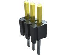 Samtec , TMS, 3 Way, 1 Row, Straight PCB Header (1000)