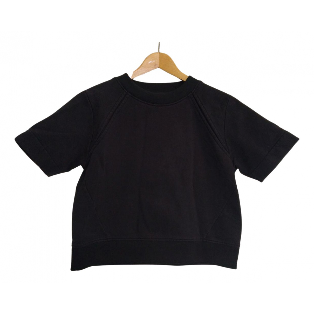 Acne Studios - Pull   pour femme en coton - noir