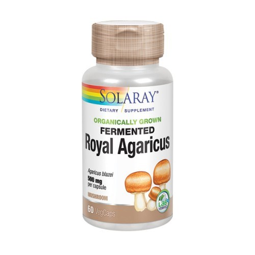 Fermented Royal Agaricus 60 Veg Caps by Solaray