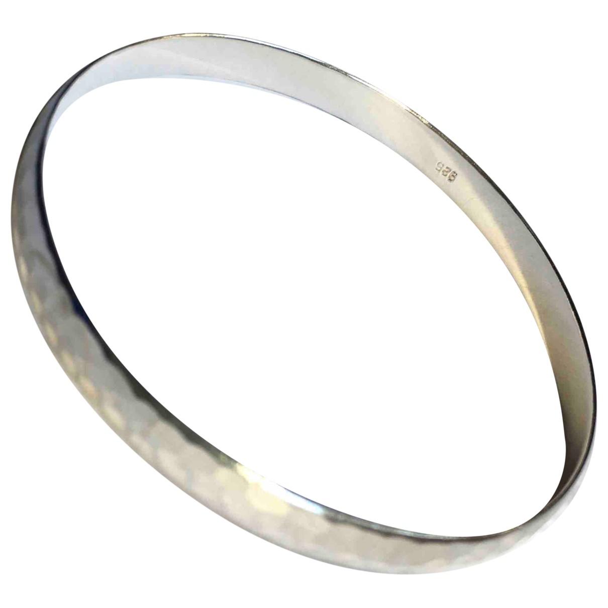 - Bracelet Jonc pour femme en argent - argente