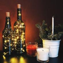 1pc Bottle Copper String Light