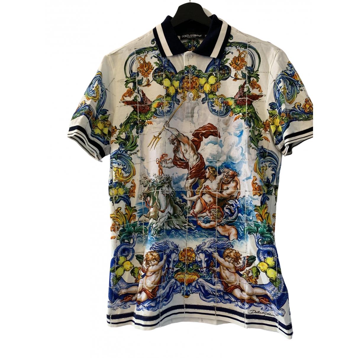 Dolce & Gabbana - Polos   pour homme en coton - multicolore