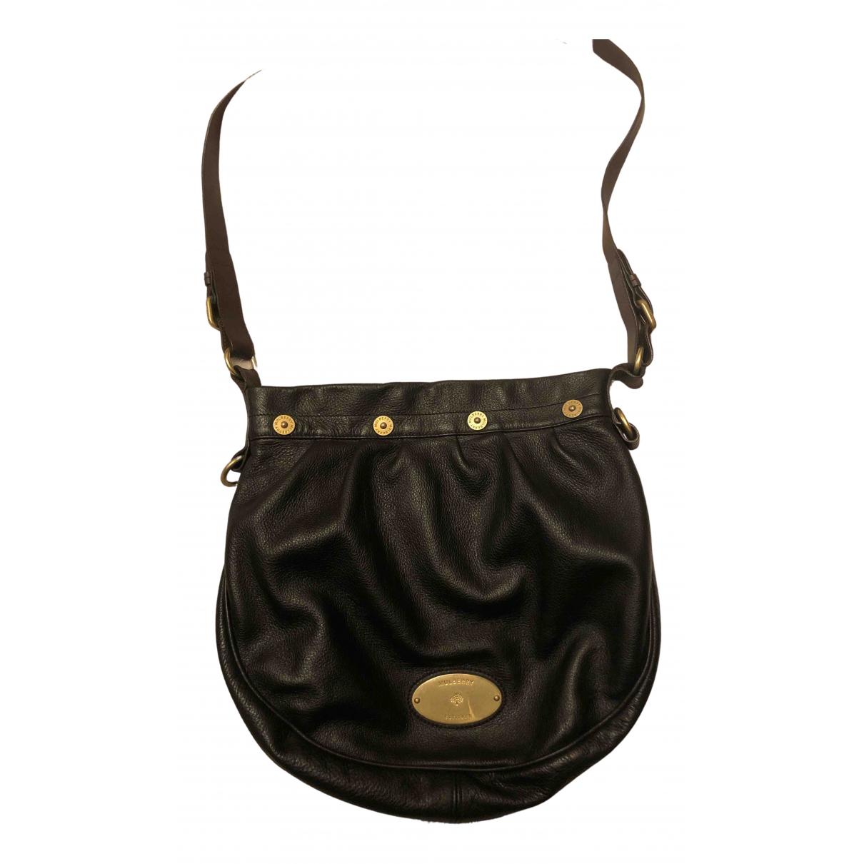 Mulberry - Sac a main   pour femme en cuir - noir