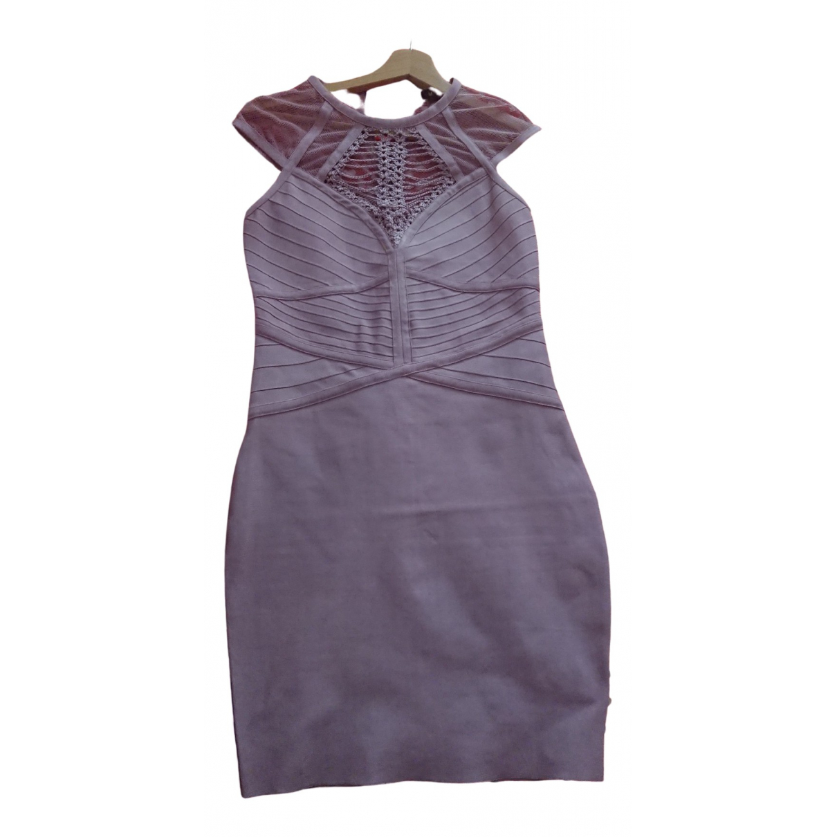 Mangano \N Kleid in  Rosa Synthetik