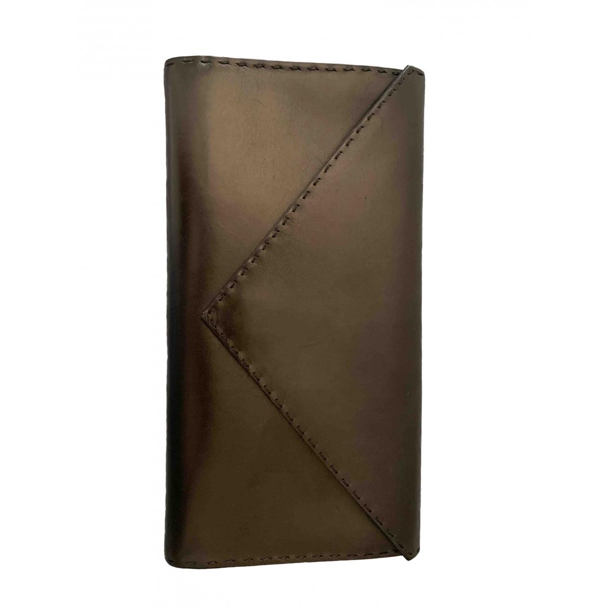 Casadei - Pochette   pour femme en cuir - noir