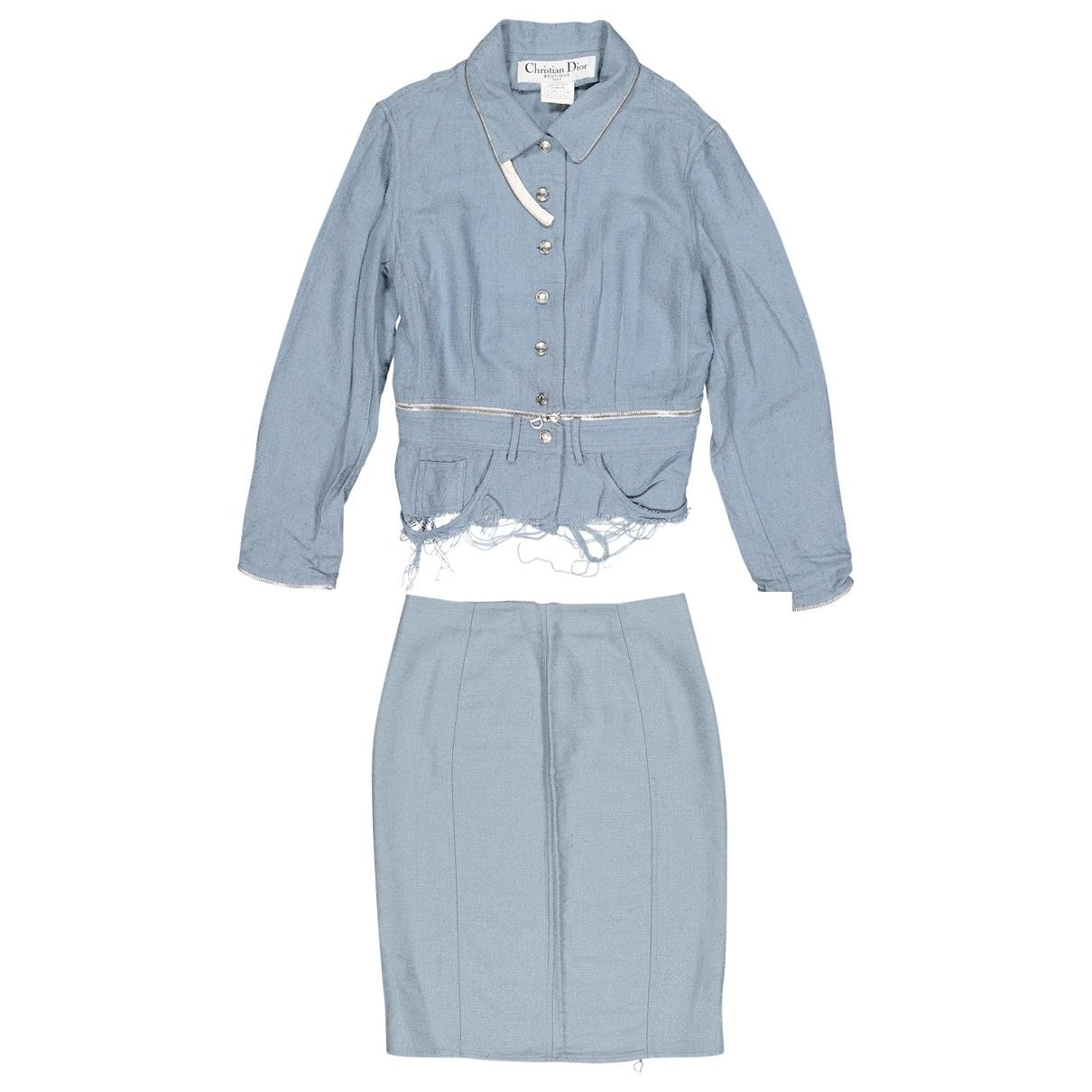 Dior \N Blue jacket for Women 42 FR