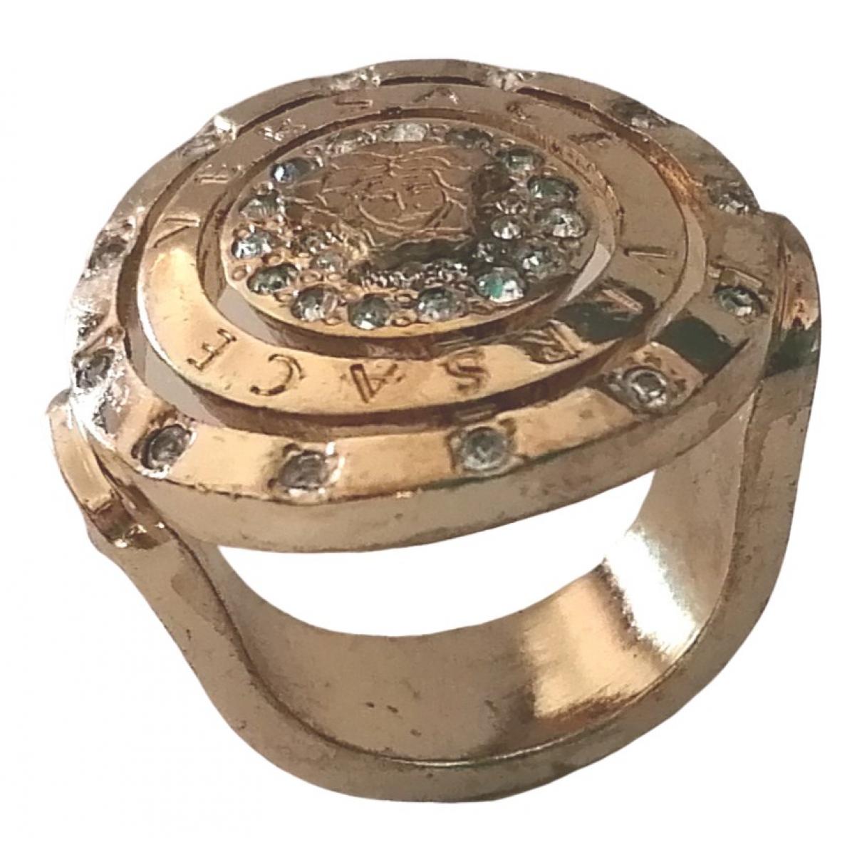 Versace Medusa Ring in  Gold Metall