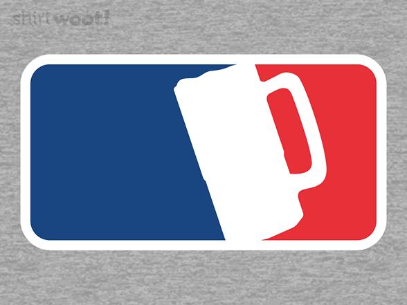 Major League Of Beer T Shirt