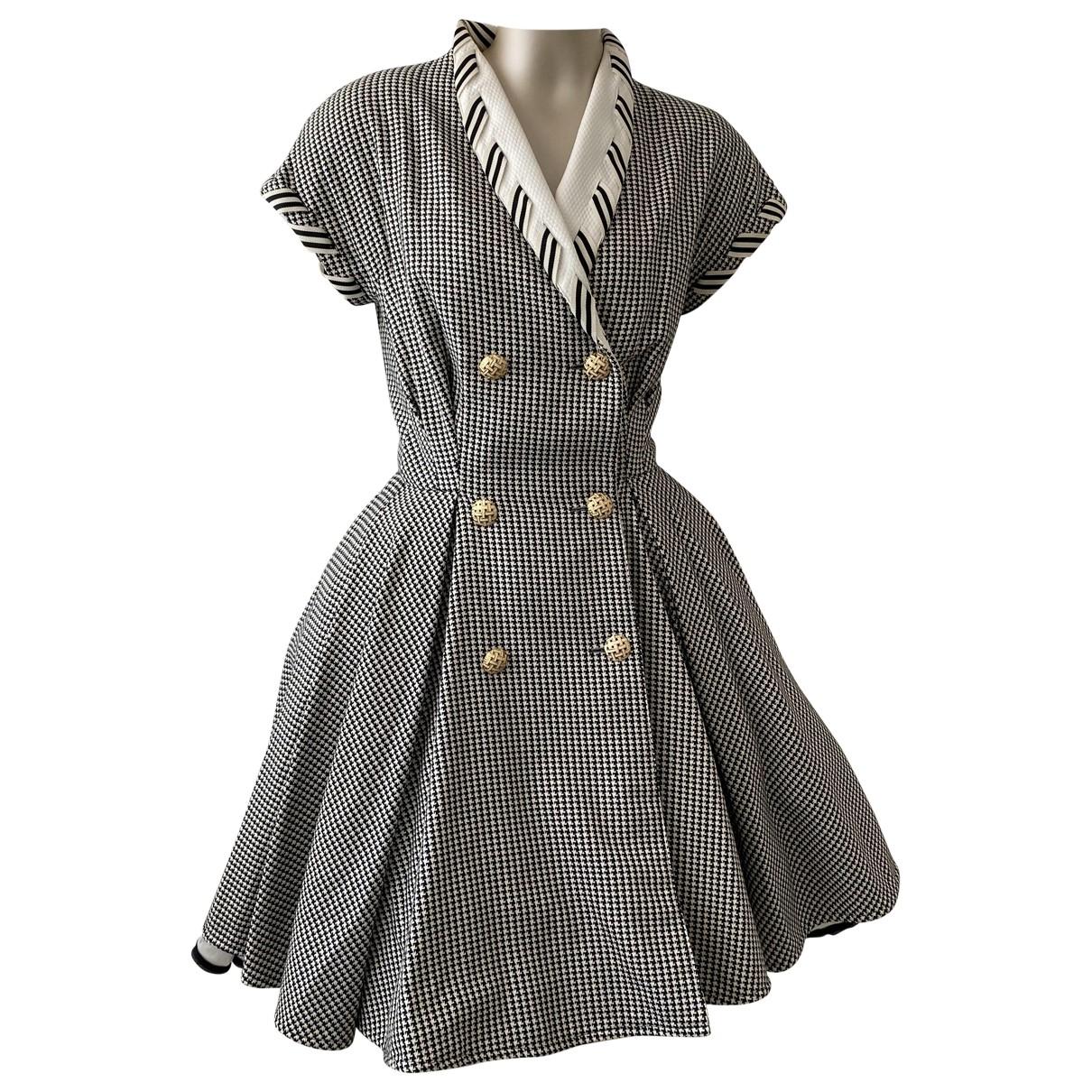 Valentino Garavani \N Kleid in  Schwarz Synthetik