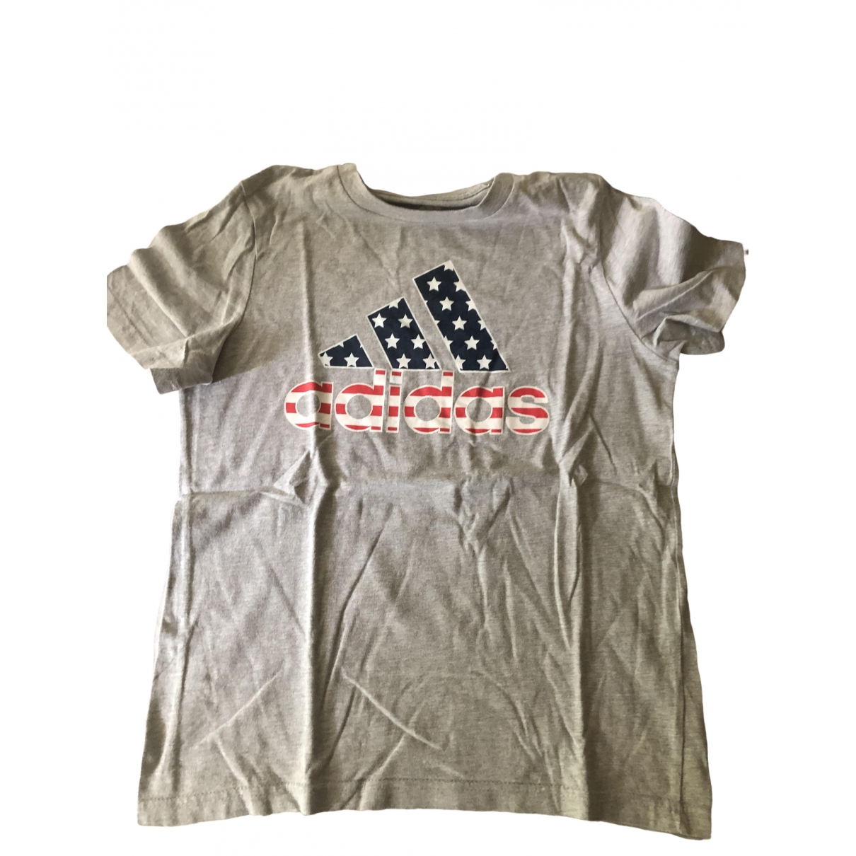 Adidas \N Grey Cotton  top for Kids 8 years - until 50 inches UK