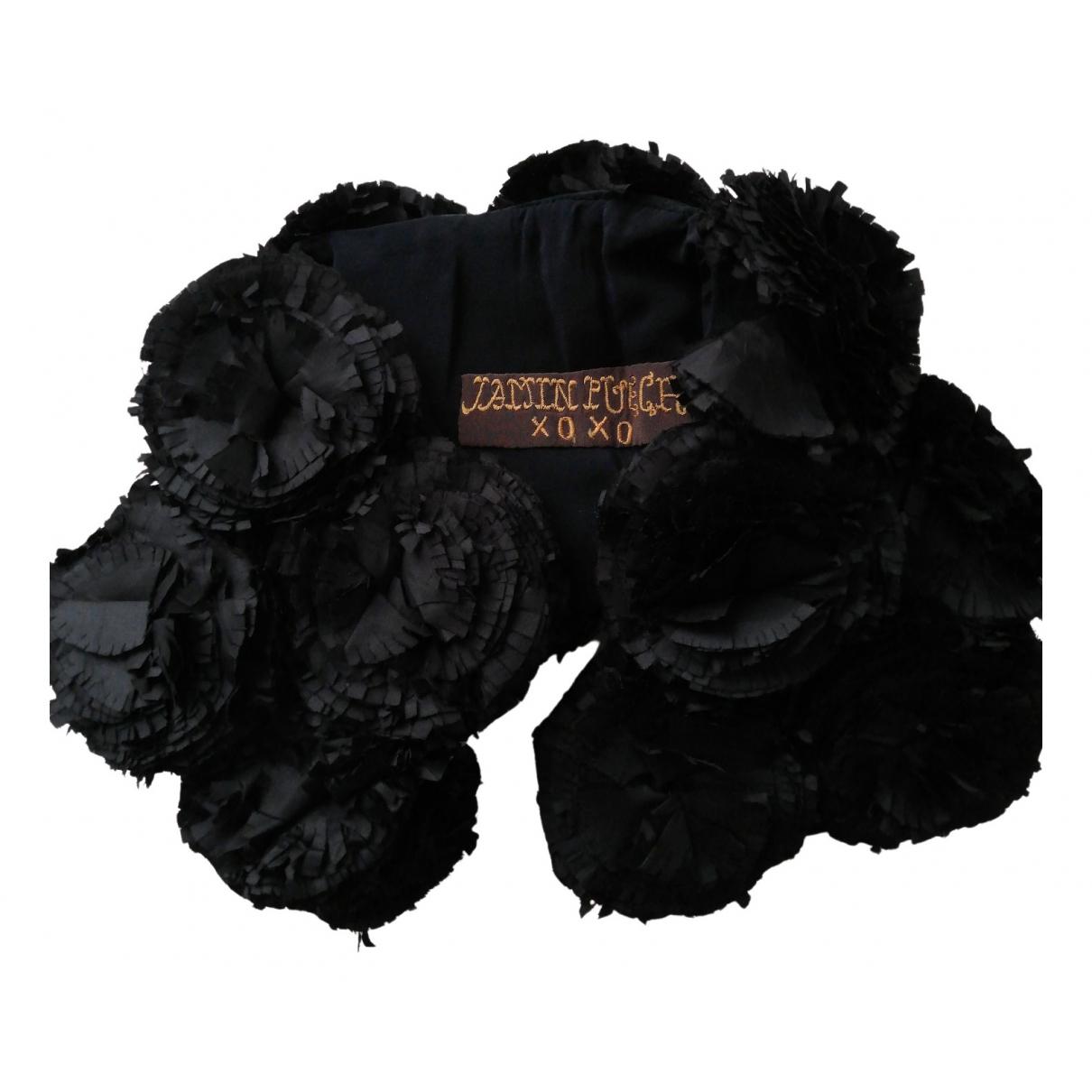 Jamin Puech N Black Silk scarf for Women N